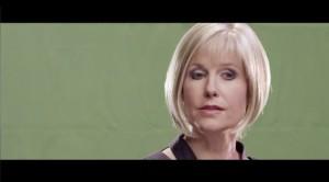 Monitor Gray - Kathleen Cameron as Victoria