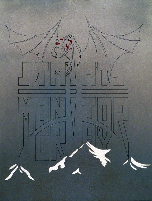 Monitor Gray - poster